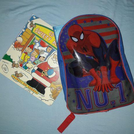 Plecak z książkami