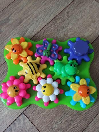 Конструктор-шестерёнки Learning Resources Цветущий сад