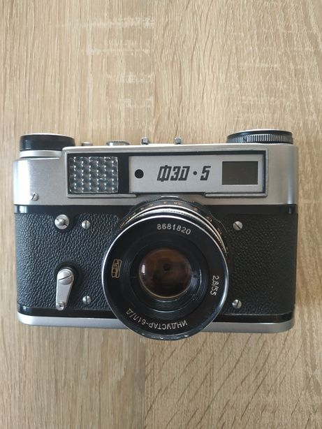 Фотоапарат ФЕД 5