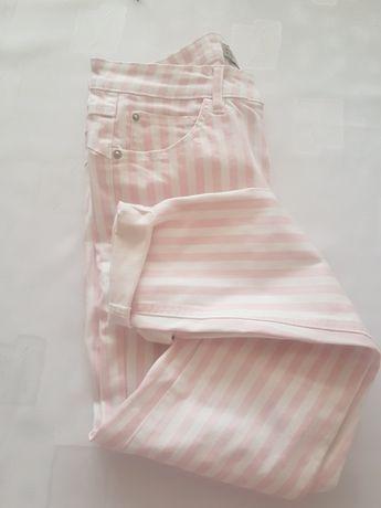 Spodnie w paski XL