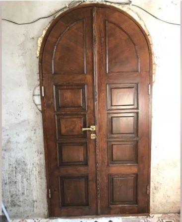Реставрация деревянных дверей без демонтажа