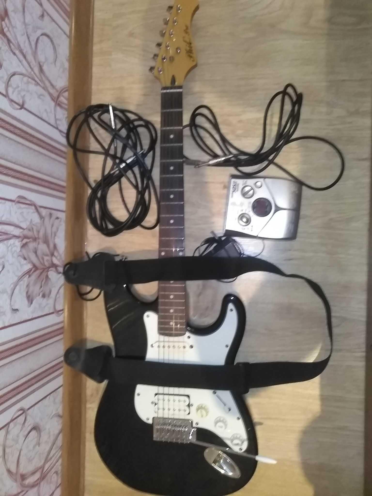 Продам электрогитару Phil Pro MS17
