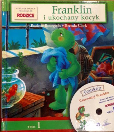 """Książka """"Franklin i ukochany kocyk"""" za 3zł"""