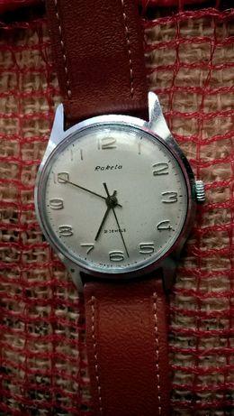 Rakieta mechaniczny zegarek 21 kamieniowy na chodzie