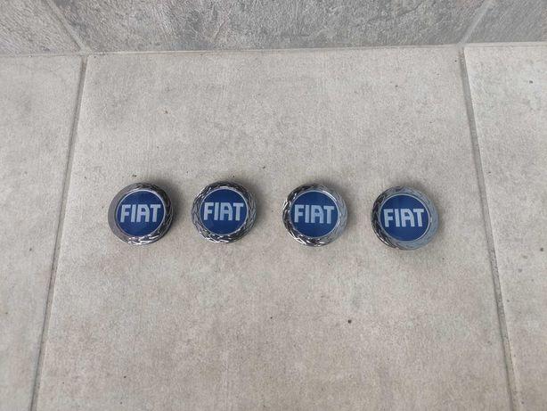 Zestaw oryginalnych niebieskich dekielków, kapsli FIAT B632