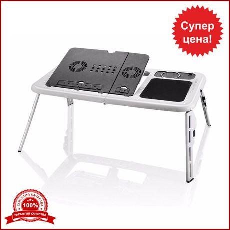 Компьютерный трансформер столик для ноутбука стол подставка с кулером
