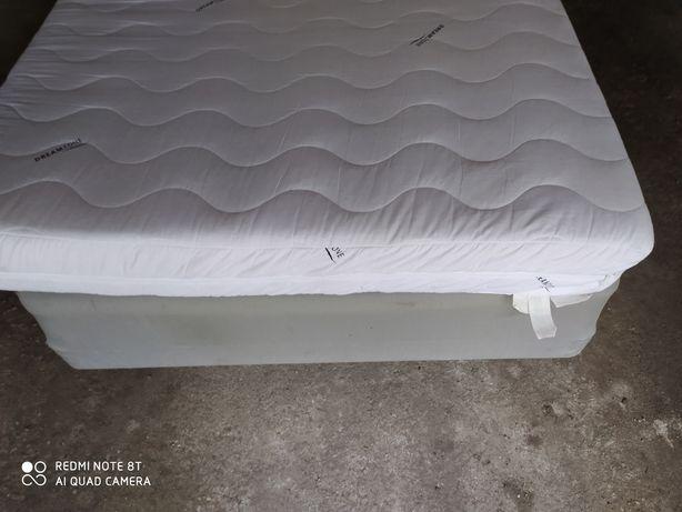 Ikea łóżko kontynentalne Espevar +materac 90 x 200 cm