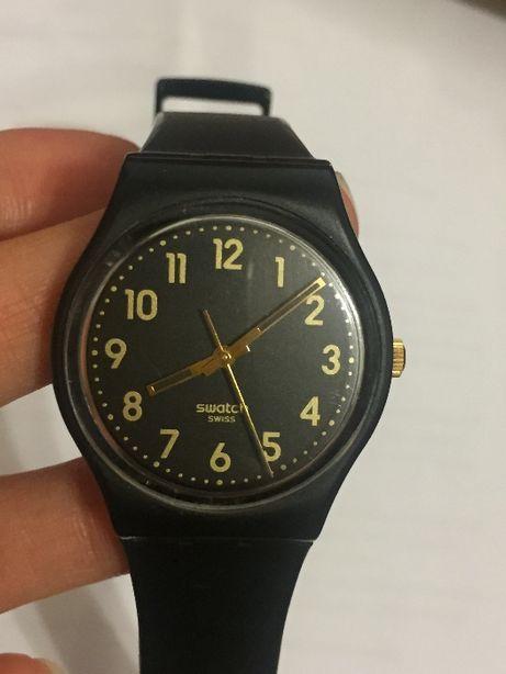 Часы SWATCH Lady Black Single LB170E