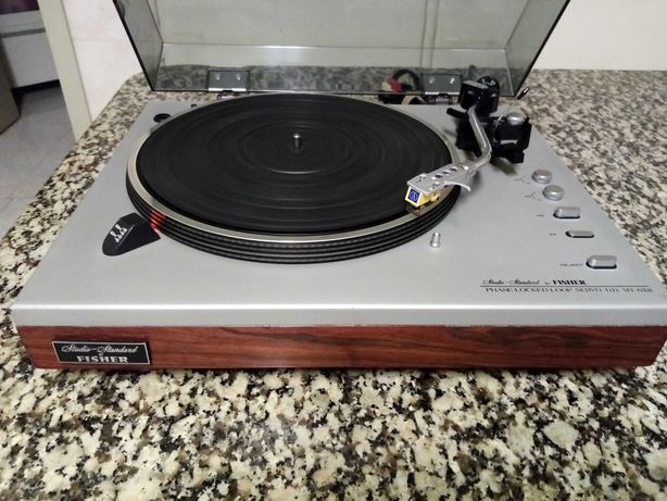 FISHER MT 6321 HiGH END Gira Discos Direct Drive