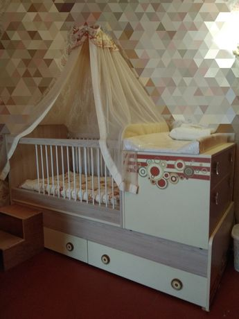 Кровать трансформер 3 в 1