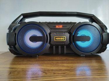 Głośnik bezprzewodowy przenośny bluetooth radio usb sd