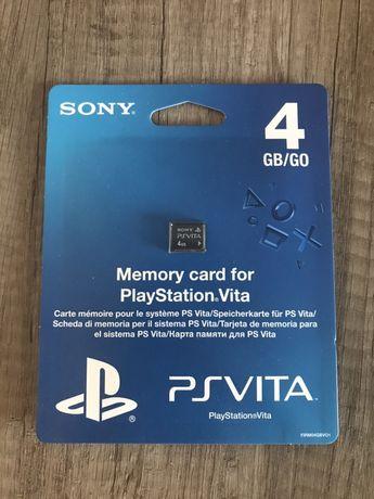 Karta pamięci 4GB PS Vita Playstation NOWA