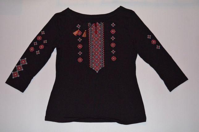 Стрейчева вишита кофта-сорочка вишиванка вышитая кофта-рубашка