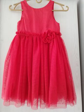 Piękna sukienka dla dziewczynki 5-6 lat