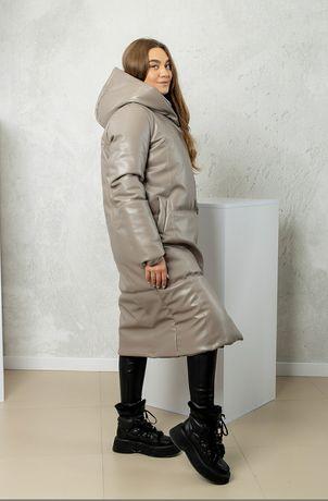 Пальто женское, удлинённое