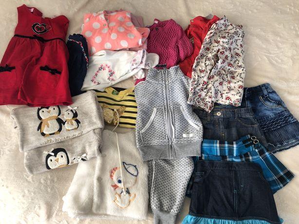 Одяг для дівчинки 1-2 роки