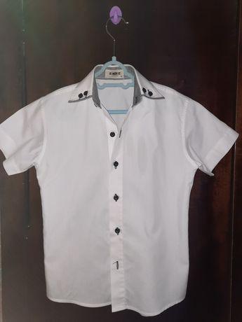 Летняя белая рубашка