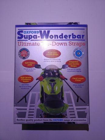 Pasy transportowe motocyklowe OXFORD SUPA-WONDERBAR STRAPS