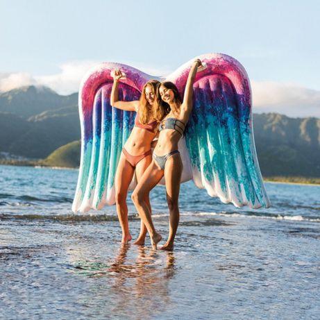 Dmuchany materac plażowy Skrzydła Anioła 251 x 160 cm INTEX 58786 W-wa