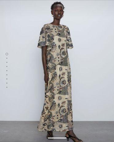Vestido Edição Limitada Zara Novo