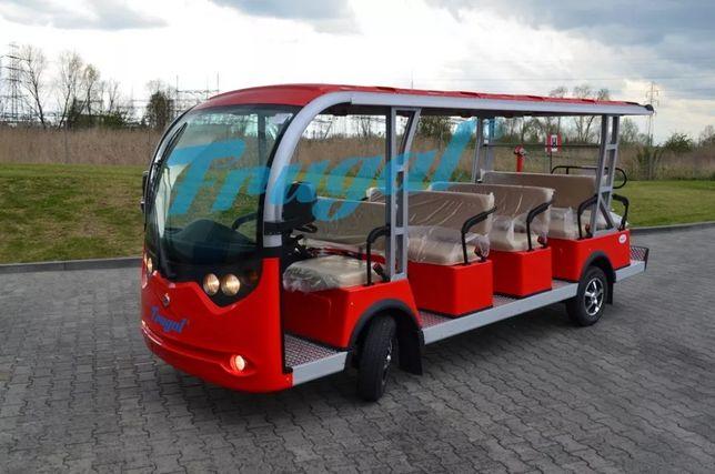 Elektryczny pojazd 14 os. Turystyczny, Pasażerski, nie melex, meleks