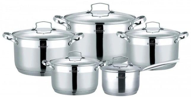 Набор посуды 10 предметов Bohmann BH-60010
