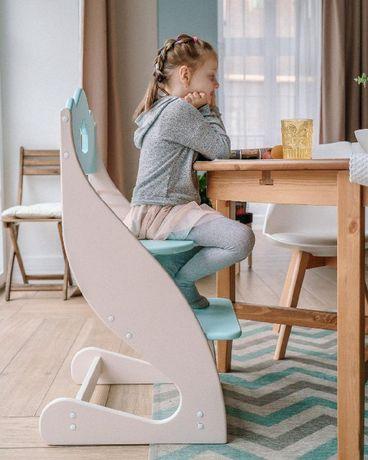 Детский растущий стул с дерева Зростаючий стілець
