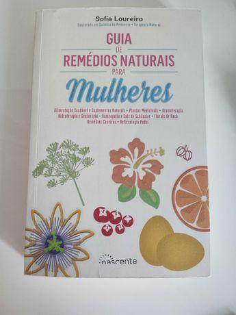 Livro: Guia de Remédios Naturais para Mulheres -  Sofia Lourenço