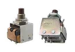 Кнопки/переключатели малогабаритные двухполюсные КМ2-1