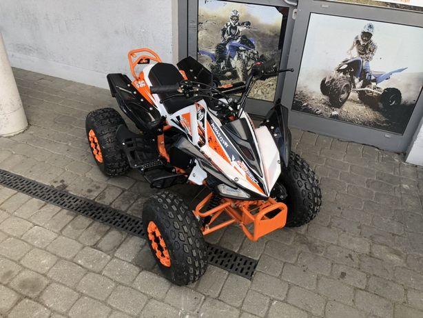 Quad 004 Carbon 125cc 14KM koła 8' KXD