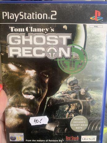 PlayStation2  PS2  Gra ghost recon tom clancy's