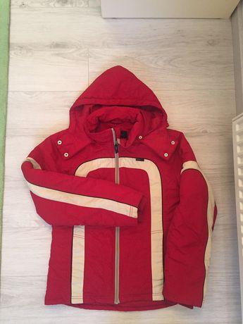 Czerwona kurtka narciarska r. M
