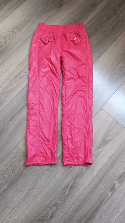 Утеплённые штаны на флисе 128р