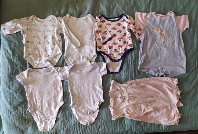 Детский бодик песочник ромпер кофта футболка на 6-9-12-18 месяцев