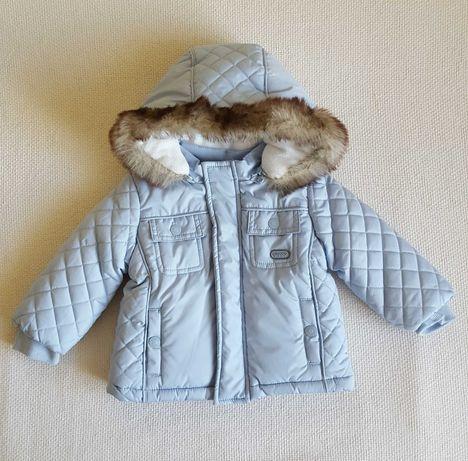 Nowa ocieplana, pikowana kurtka CHICCO. rozm. 68