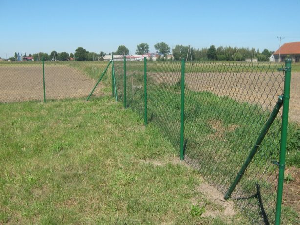 SIATKA ogrodzeniowa -Kompletne Ogrodzenie 1,5m - DOSTAWA GRATIS