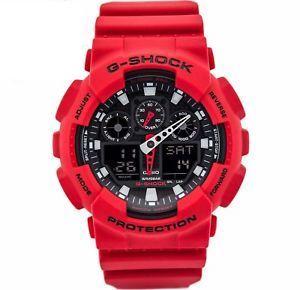 Zegarek Casio G-Shock GA-100B-4AER + puszka CASIO