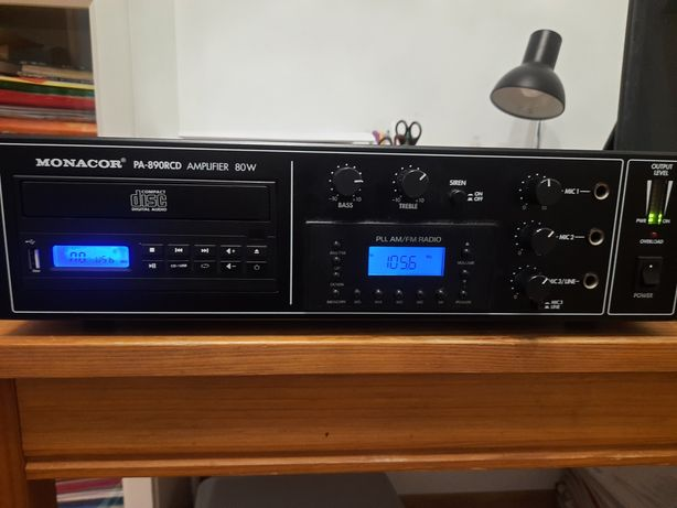 Amplituner MonacorPA 890 RCD