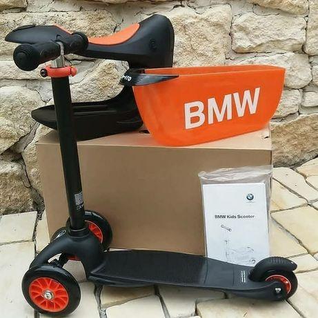 Оригінал BMW Самокат мікро Micro  бмв bmw kids scooter black orange