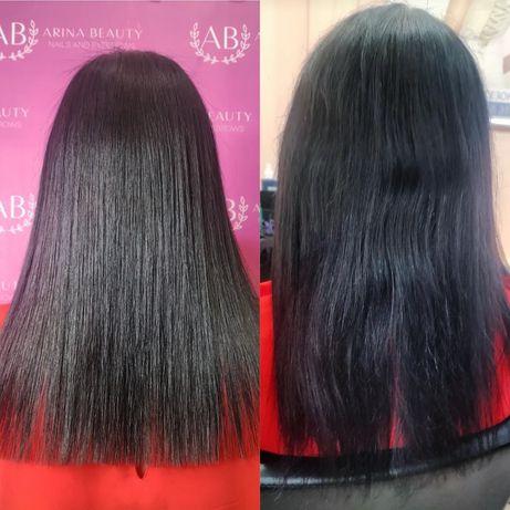 ! АКЦИЯ! Кератин, Ботокс,холодная реконструкцию волос по приятной цене