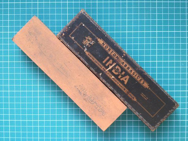 Винтажный камень для заточки (точильный) Norton India (Нортон Индия)