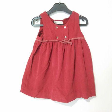 sukienka Zara 86 sztruksik