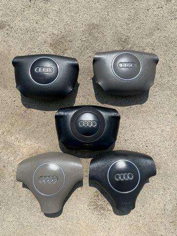 Подушка в руль аирбег airbag Audi A4 B6, A4 B5, A6 C5 Ауди А4 Б6 А4 Б5