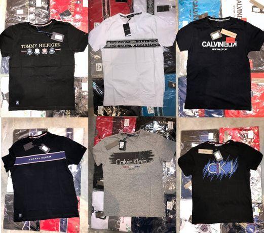 Koszulka męska Tommy Hilfiger Emporio Armani krótka Calvin Klein shirt