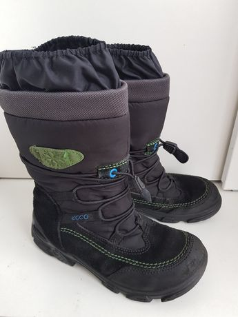 Зимние ботинки ECCO р 31 стелька 20,5 см для мальчика