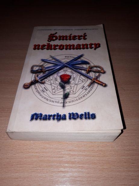 Śmierć Nekromanty - M. Wells - powieść fantasy