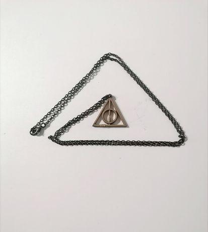 Harry Potter insygnia śmierci naszyjnik łańcuszek wisiorek Hogwart