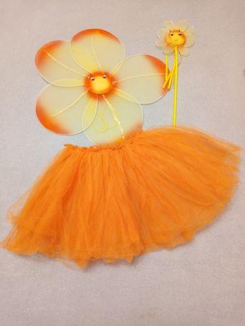 Карнавальный костюм цветочек бабочка фея ангел жучек божья коровка