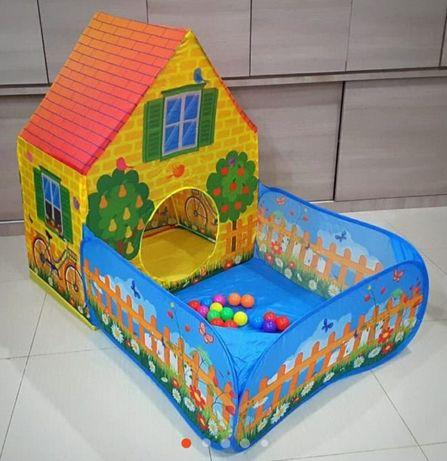 Namiot garden house + 50 piłeczek