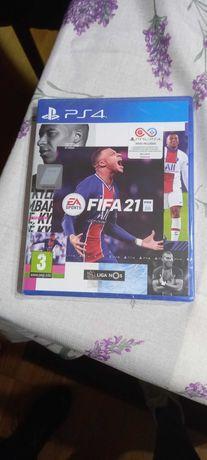 Jogo FIFA21 por estrear para PS4